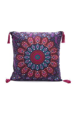 Purple Mandala Cushion
