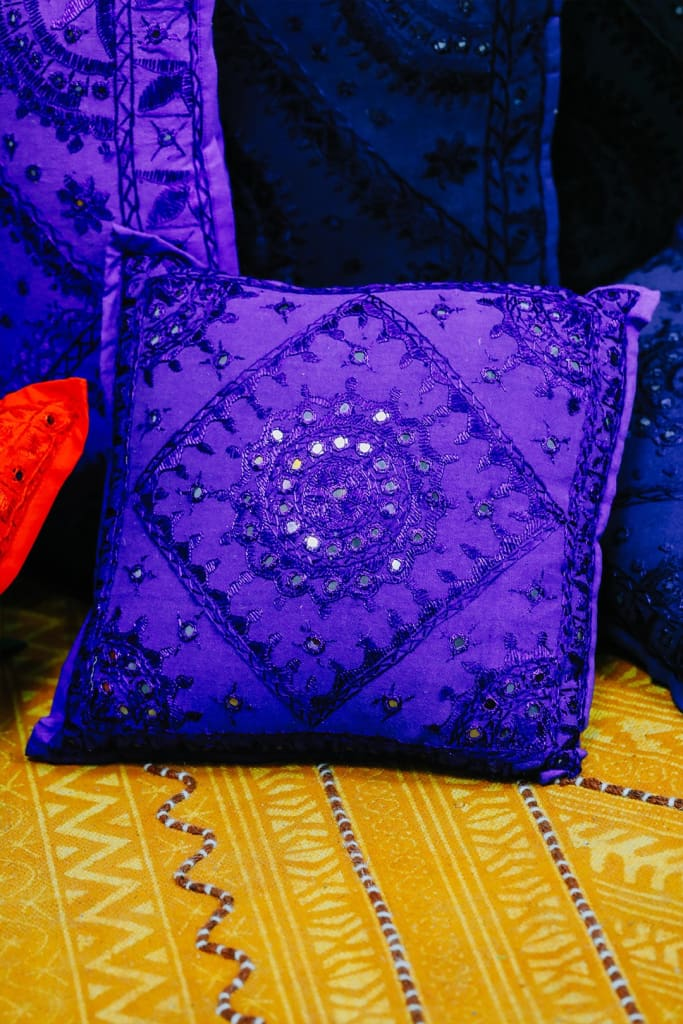 Purple Pakka Cushion