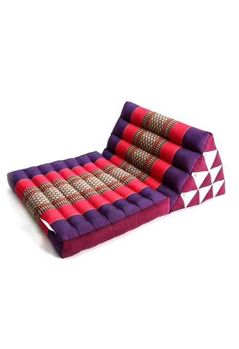 Purple & Pink Thai Cushion