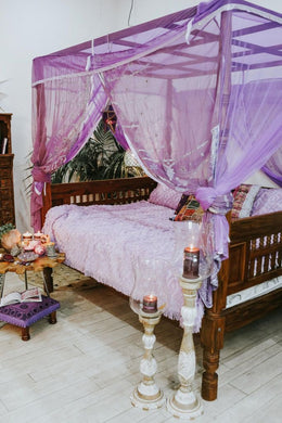 Purple Sitara Dream Canopy
