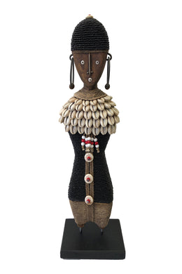 Beaded Ndamji Doll Princess