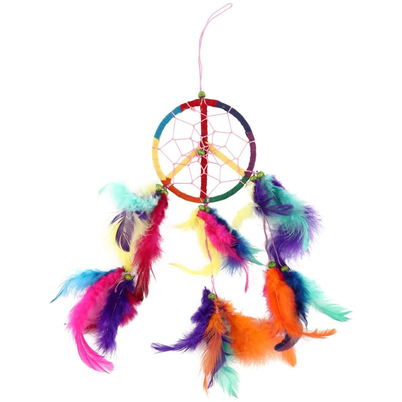 Rainbow Peace Dream Catcher