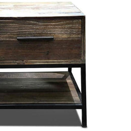 Recycled & Iron Tv Cabinet