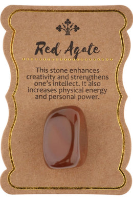 Red Agate Gift Stone