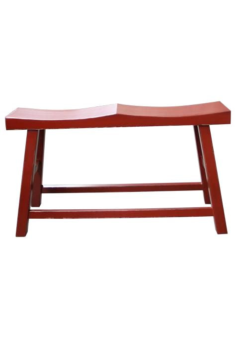 Red Double Stool