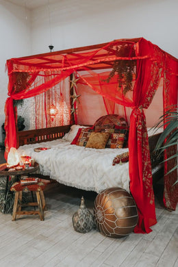 Red Sitara Dream Canopy