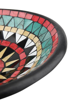 Red/green Mosaic Bowl