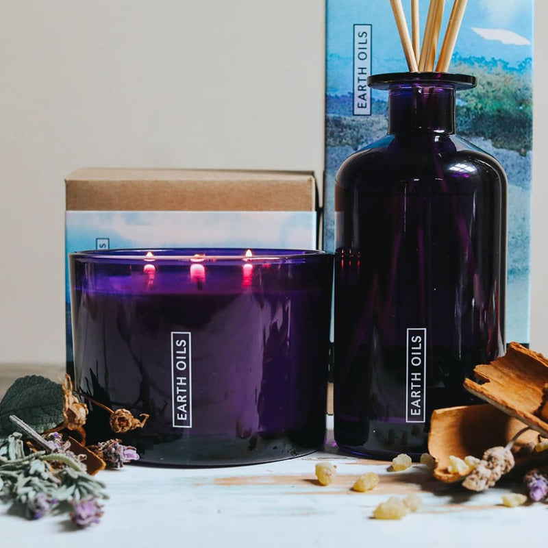 Relaxation Earth Oils Candle | Aroma | ISHKA