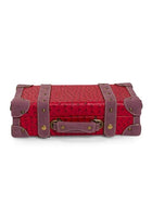 Retro Travel Chest - Red