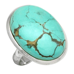 Riven Turquoise Ring