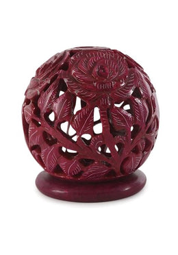 Rose Ball Candle Holder