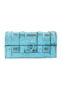 Rustic Blue Mini Chest