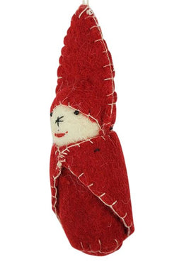 Scarlet Swaddled Baby Decoration