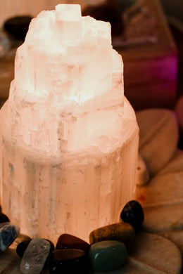 Selenite Colour USB Lamp