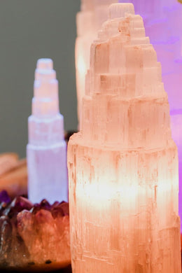 Selenite USB Lamp