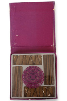 Seven Chakras Mini Incense Set