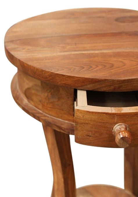 Shesham Tiered Side Table