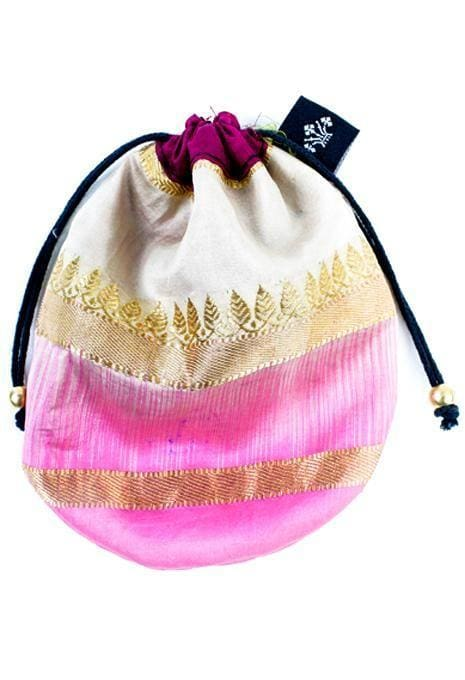 Silk Jewellery Pouch