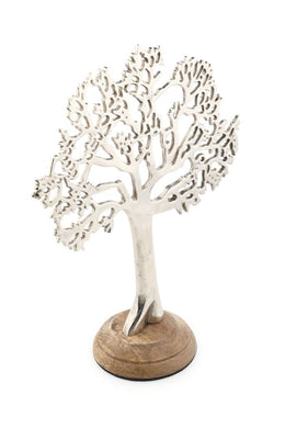 Silver Jewellery Tree Stand - Medium