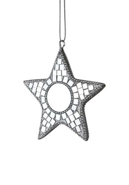 Small Mosaic Mirror Star