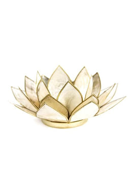 Smoked Lotus Tealight Holder