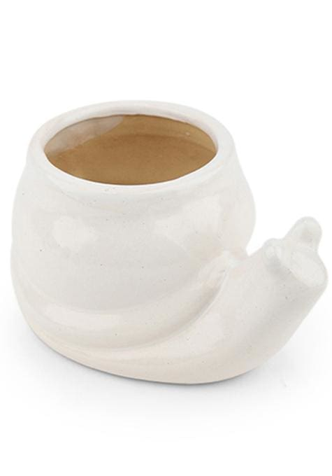 Snail Ceramic Planter