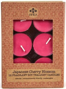 Soy Tealight Candles - Cherry Blossom
