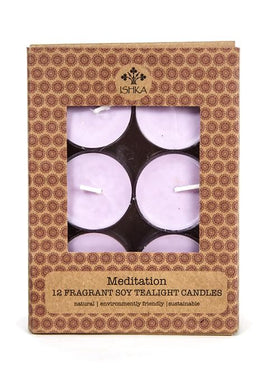 Soy Tealight Candles - Meditation