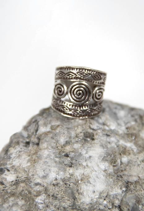 Spiral Hill Tribe Ring