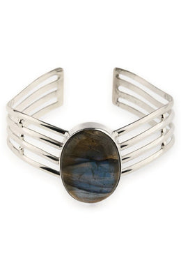 Statement Labradorite Bangle