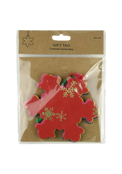 Tags Gift Pack Of 6 Ik1702-29