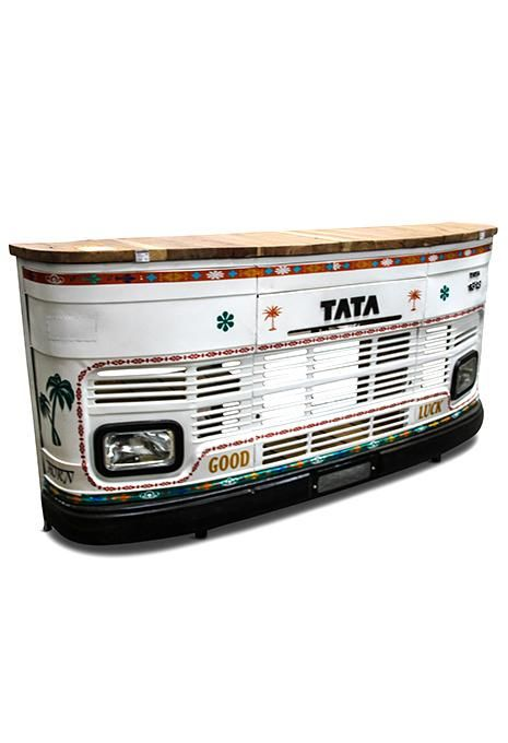 Tata Truck Bar White