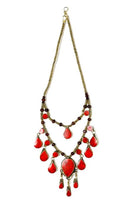 Teardrop Line Necklace