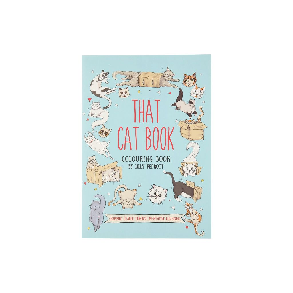 That Cat Book A Colouring