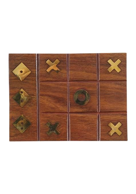 Tic Tac Toe & Dice Box