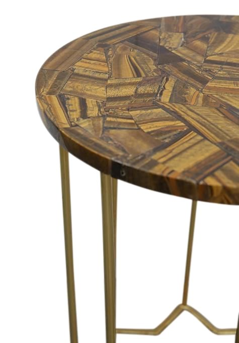 Tiger's Eye Table