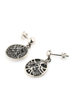 Tree Of Life Droplet Earrings