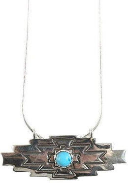 Turquoise Aztec Necklace