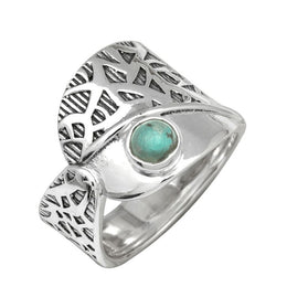Turquoise Forest Ring
