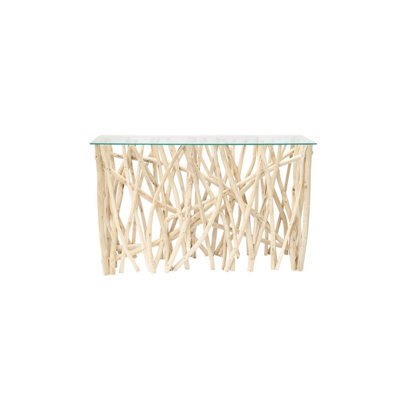 Twig & Glass Console Table