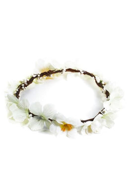 White Darling Buds Crown
