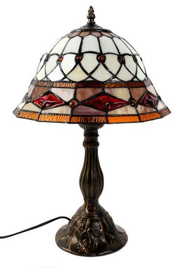White Tiffany Lamp