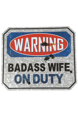 Wife Warning Sign