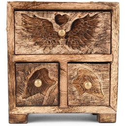 Winged Heart Cupboard