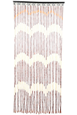 Wooden Wave Bead Curtain ...