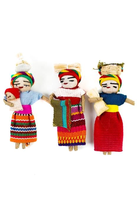Worry Dolls Magnet
