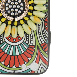 Yellow Beaded Iphone 6 Cover