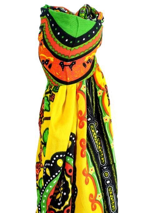 Yellow Tribal Sarong