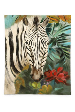 Zebra Oil Painting Canvas
