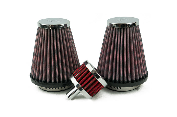 High-Flow Air & Breather Filter for Lay Down Battery Kit